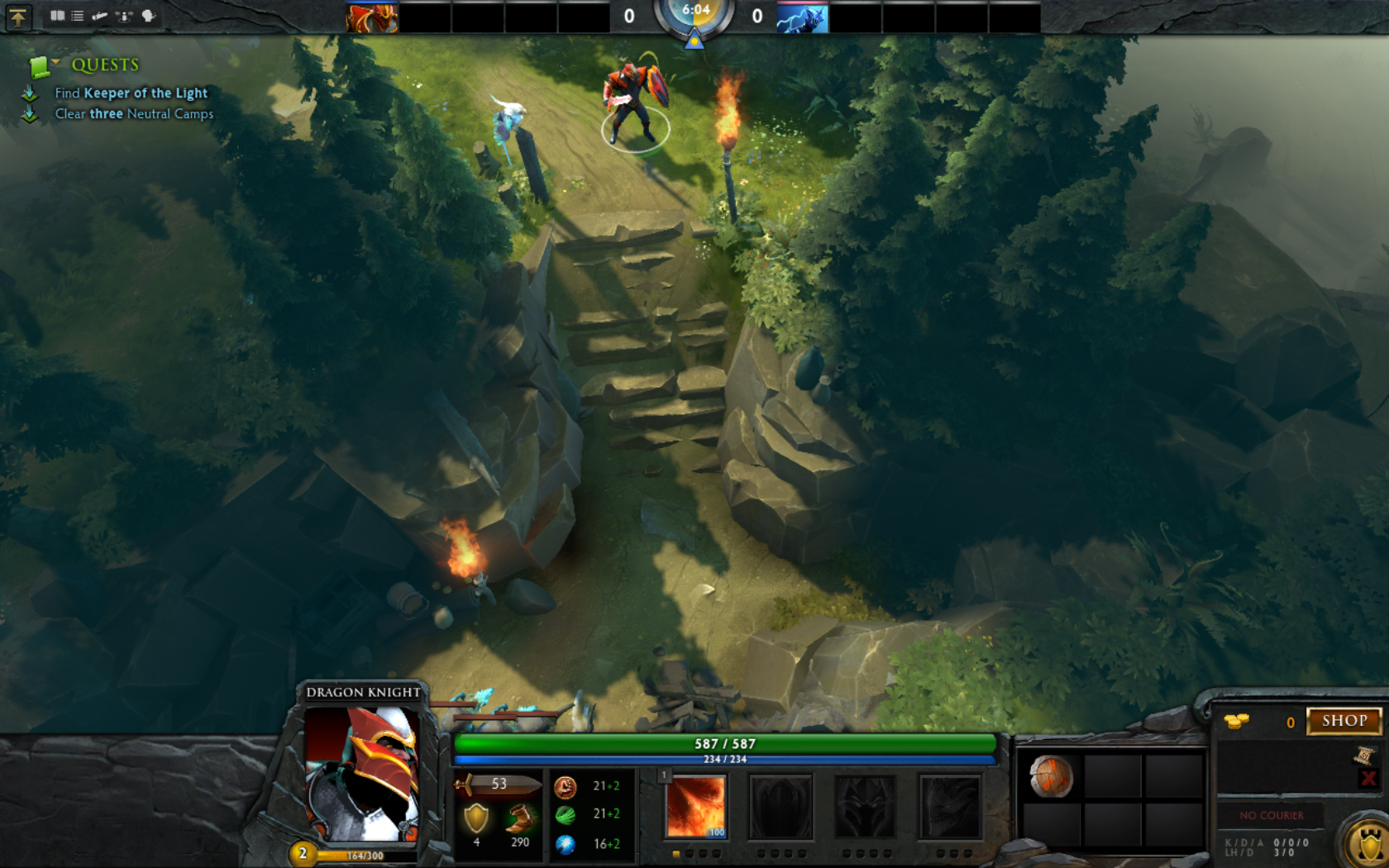 dota 2 on steam free to play gamersonlinux