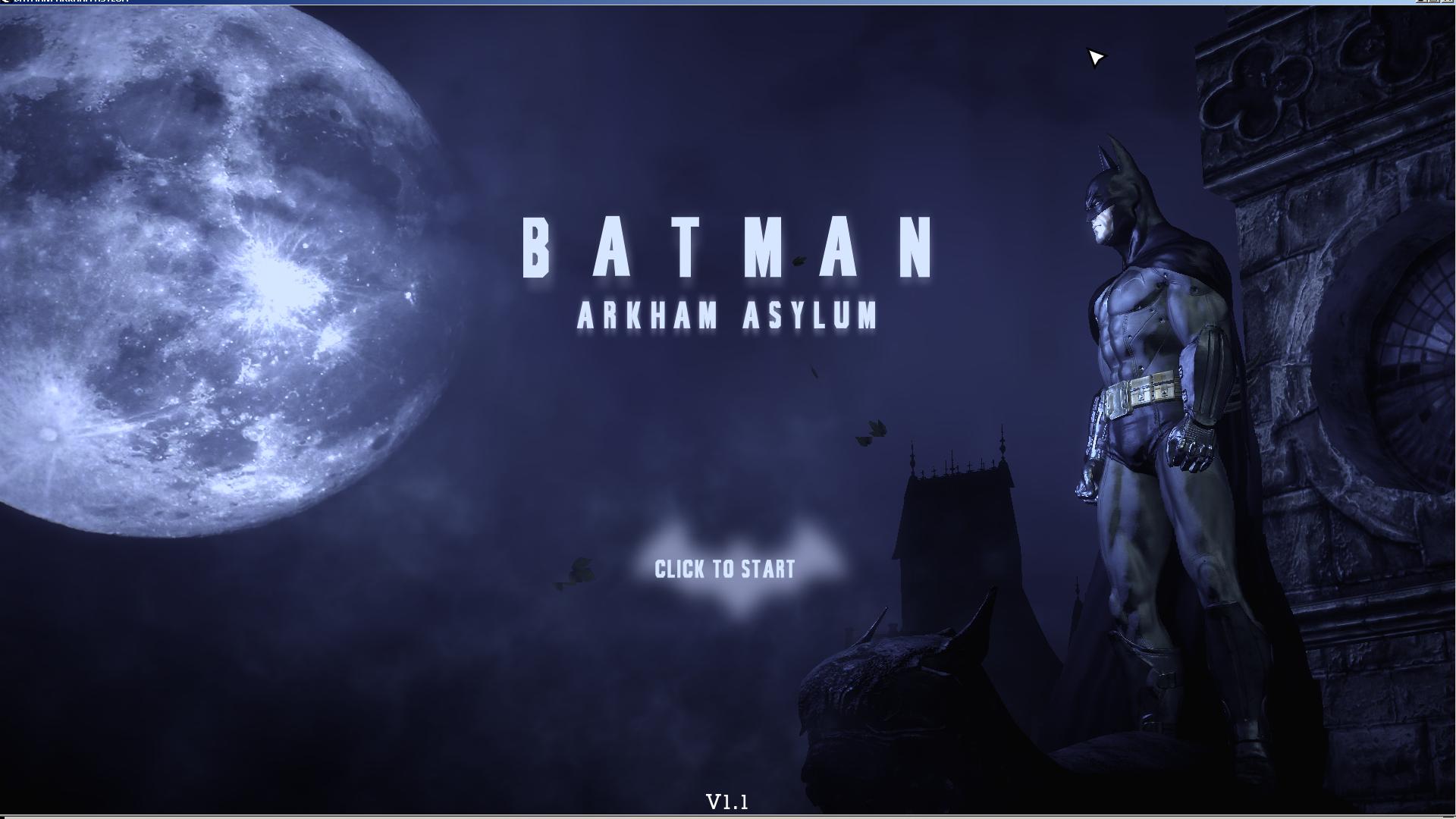 batman arkham asylum crack only