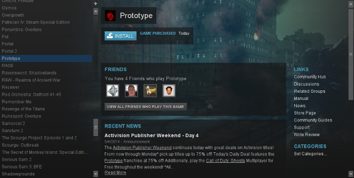 Prototype Guide | GamersOnLinux