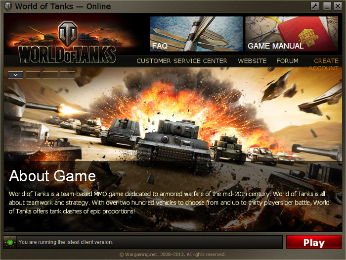 World Of Tanks Guide | GamersOnLinux