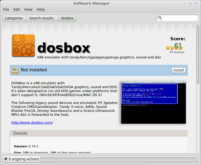 Dos Box & Games Guide | GamersOnLinux