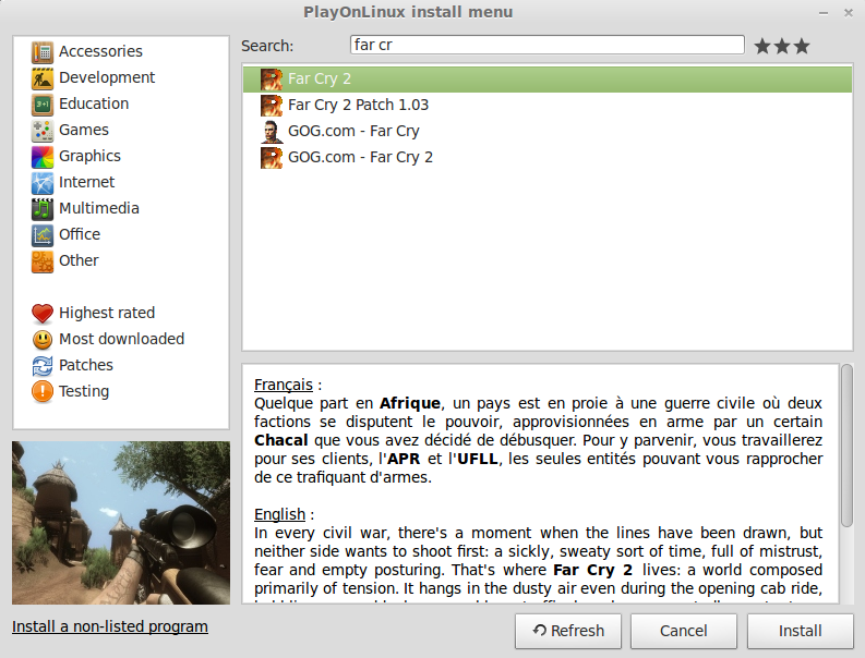 Far Cry 2 Guide | GamersOnLinux